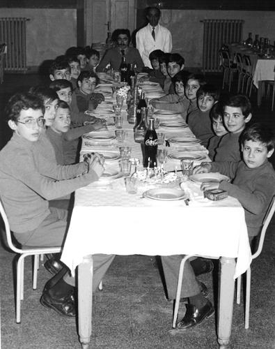 La mensa negli anni 60/70